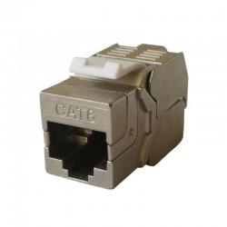 Embase RJ45 Blindee pro cat 6 FTP sans outils