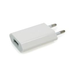 Chargeur USB sur prise secteur compact 1A