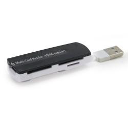 Lecteur USB 2.0 de cartes memoires SDHC/mini SD