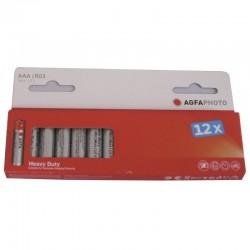 Piles LR3/AAA ZINC PREMIUM 160 mAh 12 pieces