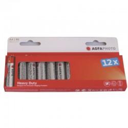 Piles LR6/AA ZINC PREMIUM 460 mAh 12 pieces