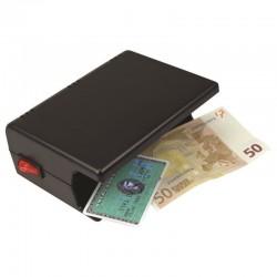 Detecteur de faux billets avec 1 lampe UV