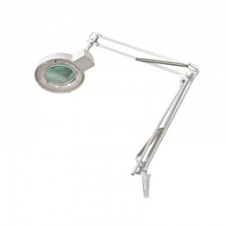 Lampe loupe 8 Dioptries 22W Blanc