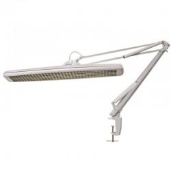 Lampe de bureau 3 X 14W Blanc fixation etau