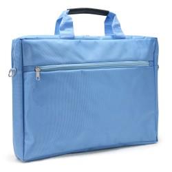 "Sacoche pour PC portable 15.6"" bleu en nylon"