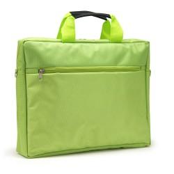 """Sacoche pour PC portable 15.6"""" vert en nylon"""