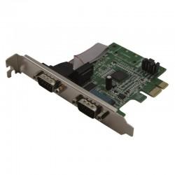 Carte PCI Express et low profile 2 ports serie