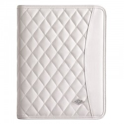 Conferencier elegance blanc pour iPad et comp