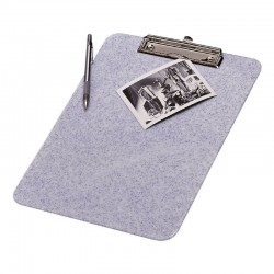 porte document rigide avec pince granite
