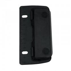 Perforateur 2 trous mobile noir