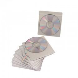 Pochette adhesive reposit 1 CD/DVD pack de 10