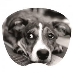 Tapis souris decor chien extra fin surface rapide