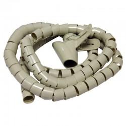 Rangement cable beige 1.50m diam 28mm