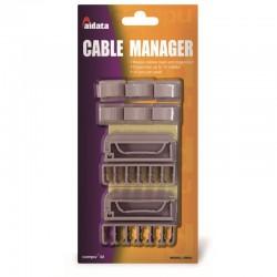 Attaches cables management jeu de 10