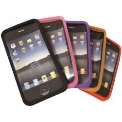 Coques silicone jeu de 2 pour iPhone 4 4S