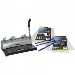Perforelieur A4-A5 + Kit pour 100 reliures