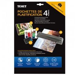 50 Feuilles de plastification 4 formats 150 mic