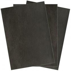 Couverture grain cuir noir A4 pack de 100