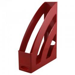 Porte revues 255x330x80mm rouge