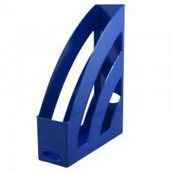 Porte revues 255x330x80mm bleu