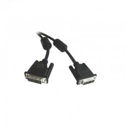 Cable ecran DVI-D 24+1 avec ferrites 5.00mm
