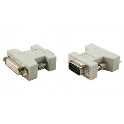 Adaptateur HD15-VGA male vers DVI-I femelle