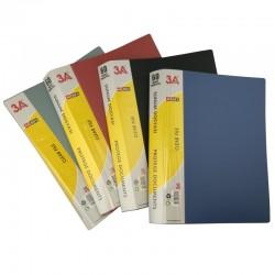 Protege documents assortiment de couleurs N,B,R,G