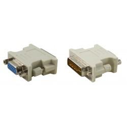 Adaptateur DVI-I male vers HD15-VGA femelle