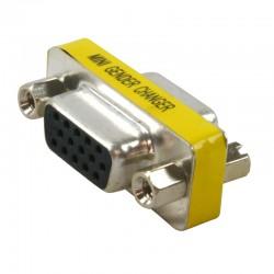 ARRET Mini changeur de genre adatateur HD15 F/F