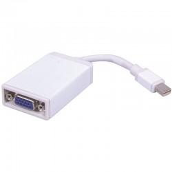 Adaptateur Mini DisplayPort male vers VGA femelle