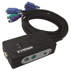 KVM Switch VGA-PS/2 pour 2 ordinateurs