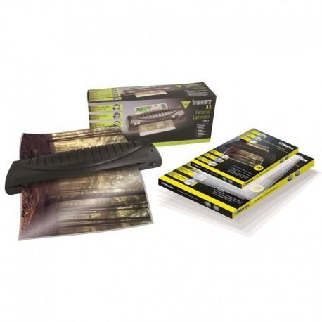 Plastifieuse A3, A4, A5, A6, A7 avec 100 feuilles A4 et 100 feuilles A3 Texet