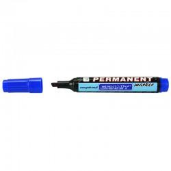 Marqueur permanent Bleu pointe Biseautée 5 mm grand modèle