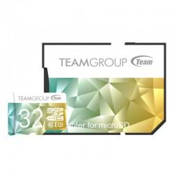 Carte mémoire microSDHC 32 Go UHS-I U3 class10 avec adaptateur Team Group