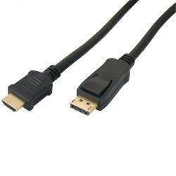 Cordon DisplayPort / HDMI M/M 4K 2.00m