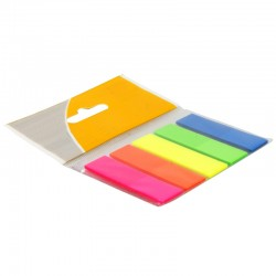 Marque page repositionnable marque pages 25 x 5 couleurs suspendu