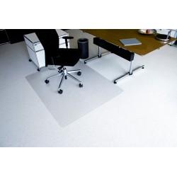 Tapis protege sol moquette Pro PET Transparent 1.20 x 1.30m