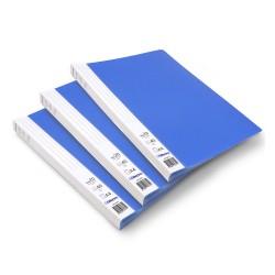 Lot de 3 protège-documents Bleu 20 pochettes 40 vues