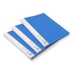 Lot de 3 protège-documents Bleu 80 pochettes 160 vues