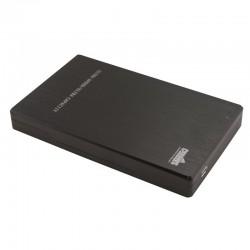 """Boîtier vide USB 3.0 noir pour Disque Dur 2.5"""" SATA"""