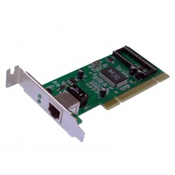 Carte PCI Gigabit 32 Bits avec support low profile REPOTEC