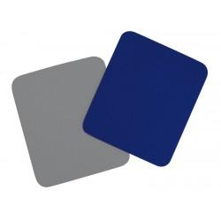 Tapis souris mousse tissu bleu emballage suspendu
