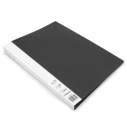 Protège documents Noir Prémium 20 vues 10 pochettes