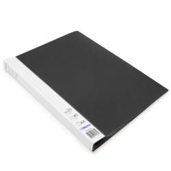Protège documents Noir Prémium 40 vues 20 pochettes