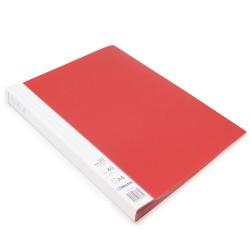 Protège documents Rouge Prémium 40 vues 20 pochettes