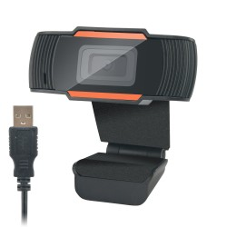 Webcam HD 3 Mégapixels USB 2,0, UVC, Micro