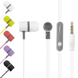 Ecouteurs / Kit main libre avec micro Ergonomique Multi-couleurs
