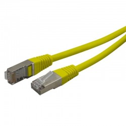 Cable reseau ADSL RJ45 blinde 0.5m Cat.6