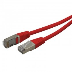 Cable reseau ADSL RJ45 blinde 2.0m Cat.6