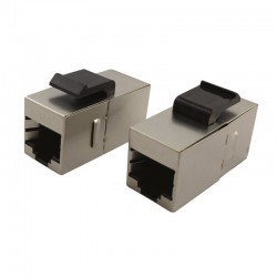 Traversee blindee F/F RJ45 Cat6 FTP